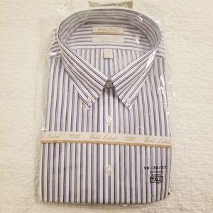 NEW Men's Button Down Dress Shirt